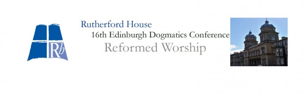 Rutherford House - Dogmatics Web Banner